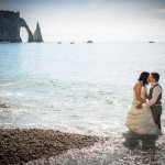 Trash the dress Etretat