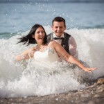 Mariage arrosé (trash the dress) !